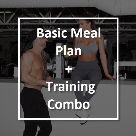 Basic meal plan + training combo